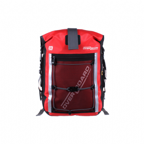 Overboard 30 Litre Pro-Sports Backpack Red 46 x 26 x 25cm 1.2kg
